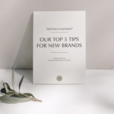 TOP 5 TIPS FOR NEW BRANDS